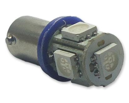 Imagem de C107 - 69 BA9S 5 SMD Azul (meia-luz / painel de clássicos)