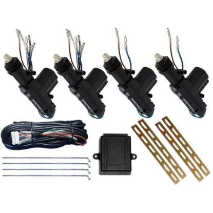 Imagem de TE4P - Kit Trava Elétrica 4 Portas Dupla Serventia