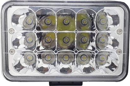 Imagem de B645CN - Farol Auxiliar Retangular 15 Leds 45W 10-30V Cinoy