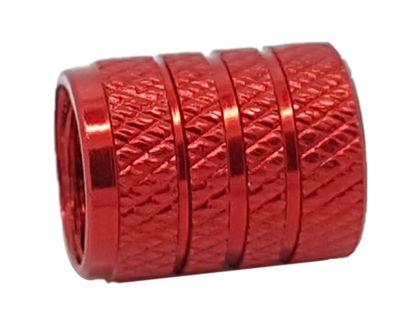 Imagem de TB0635VM - Tampa Bico Ventil Vermelha Texturizada