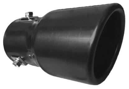 Imagem de PEPT-CN - Ponteira de Escapamento Preta Cinoy (diametro 6cm)