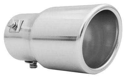 Imagem de PEPR-CN - Ponteira de Escapamento Prata Cinoy (diametro 6cm)