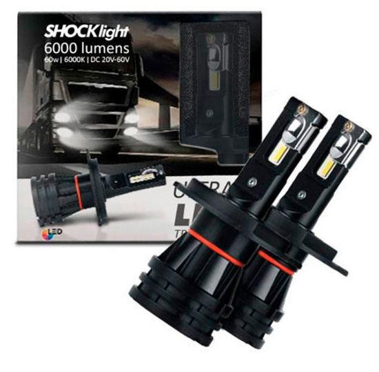 Imagem de SLT24V - Super Led Truck 20-60V 6000K 60W 6000LM ShockLight