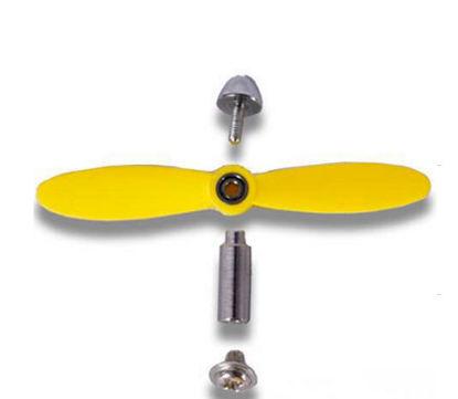 Imagem de CH5063 - Chaveiro Helice Amarela