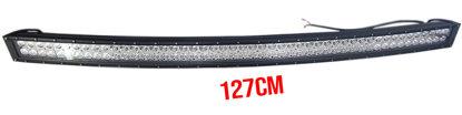 Imagem de BLC288W-CREE - Barra LED Curva 96 CREE 288W 6000K Off Road 127cm Bivolt (medidas:  L:127cm x A:10cm x P:8,55cm)