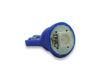 Imagem de Lâmpada T10 Pingo Esmagada 1 Led SMD Azul 12V