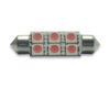 Imagem de C150 - Torpedo 39mm 6 SMD Rosa (teto / placa /porta-luvas)