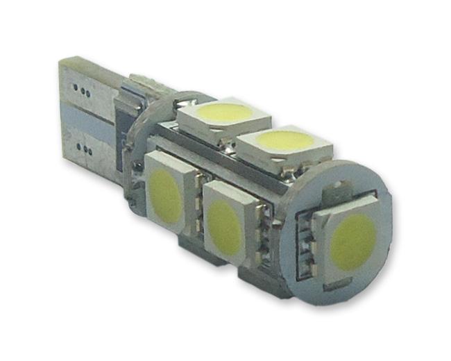 Imagem de T10 Esmagada 9 SMD Canceller (meia-luz / teto / painel)
