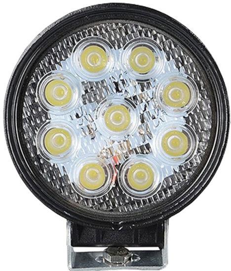 Imagem de B627 - Farol Spot OFF ROAD 9 LEDS 27W BIVOLT (diametro 11,4cm)