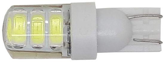Imagem de C307 - T10 6 5730 SMD Branco 12V Silicone Base Plastica