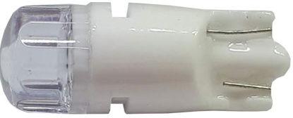 Imagem de C385 - T10 2 2835 SMD 10.000K  Lente Roma Cristal  12V