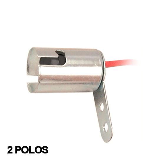 Imagem de DS672 - Soquete Haste Curta Metal 2 polos 67