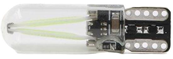 Imagem de C363 - T10 Silicone 2 Filamentos COB Verde