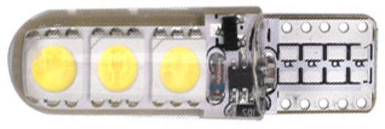 Imagem de C327 - T10 6 5050 Silicone Branco 12V