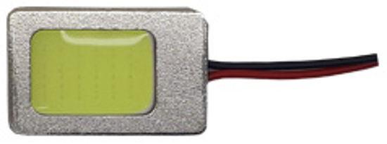 Imagem de C372 - Placa Cob 22 Chip 16mm Branco Case Metal