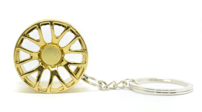 Imagem de CH5011 - Chaveiro Roda 1007 Dourada