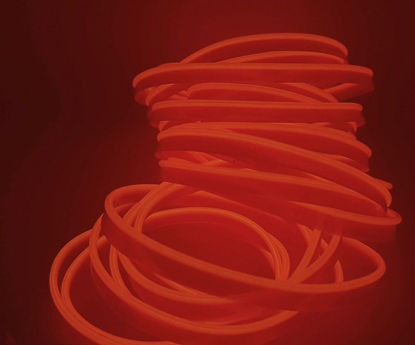 Imagem de FLNLJ05 - Fita LED Neon 5 Metros Laranja