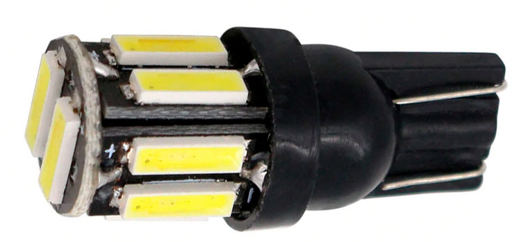 Imagem de LT10-803 - Led T10 10 7020 SMD Branco 12V