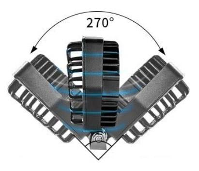 Imagem de F48W-GP - Farol Off Road 16 LED 48W Grade Preta Bivolt (diametro 14cm)