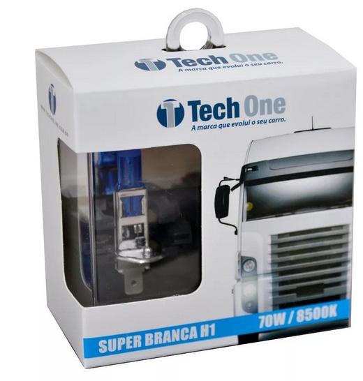 Imagem de SBH124V - Lampada Super Branca H1 24V 70W 8500K T1