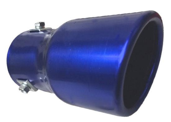 Imagem de PEAZ-CN - Ponteira de Escapamento Azul Cinoy (diametro 6cm)
