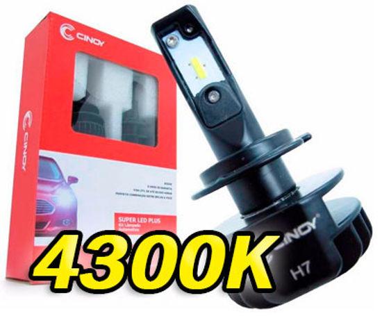 Imagem de FLP4K - Super Led Plus 4300K (Amarelo)  6 LED CSP 6000 Lumens Cinoy 12-24V