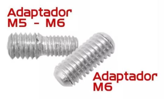 Imagem de H-ANT01 - Haste Antena Universal c/ Adaptador M5 e M6 20cm Preta