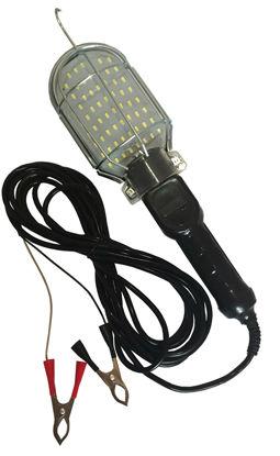 Imagem de LMECxxV-01-SMD - Luz Luminaria de Inspeção Mecanico Fio 5m 64 LED 12V ou 24V