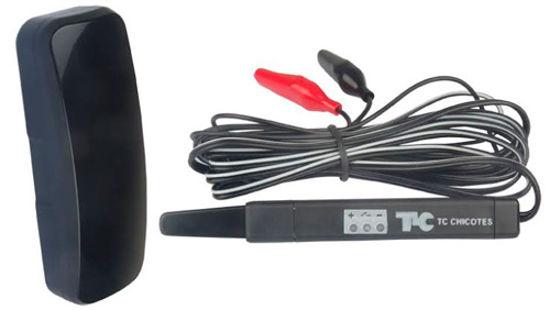 Imagem de ED800-3009 - Caneta de Teste Eletronico c/ LED na Ponteira 5 A 24 VOLTS (com estojo)