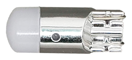 Imagem de LT10-830 - Led T10 1 3030 1,5W 12V Branco Base Prata Lente Fosca