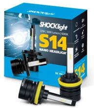 Imagem de SLNANO-H11 - H8, H9, H11, H16/2 6000K 12V 32W 3600 Lumens Shocklight