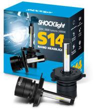 Imagem de SLNANO-H4 - H4 6000K 12V 32W 3600 Lumens Shocklight