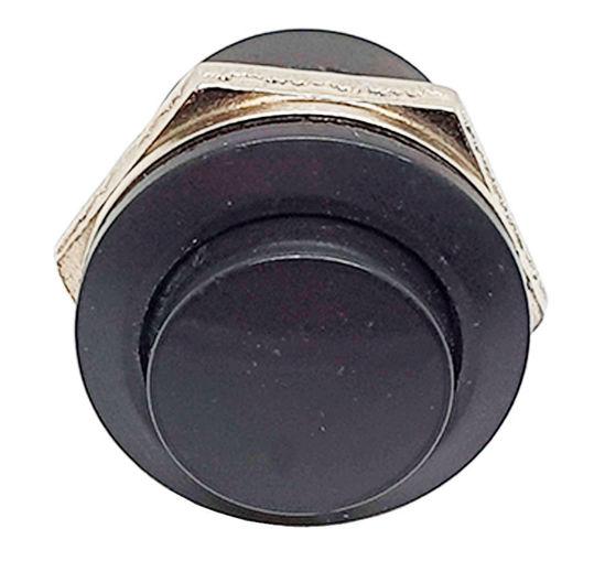 Imagem de CHAPB-3APT - Chave Push Button NA 3A 125V Preto