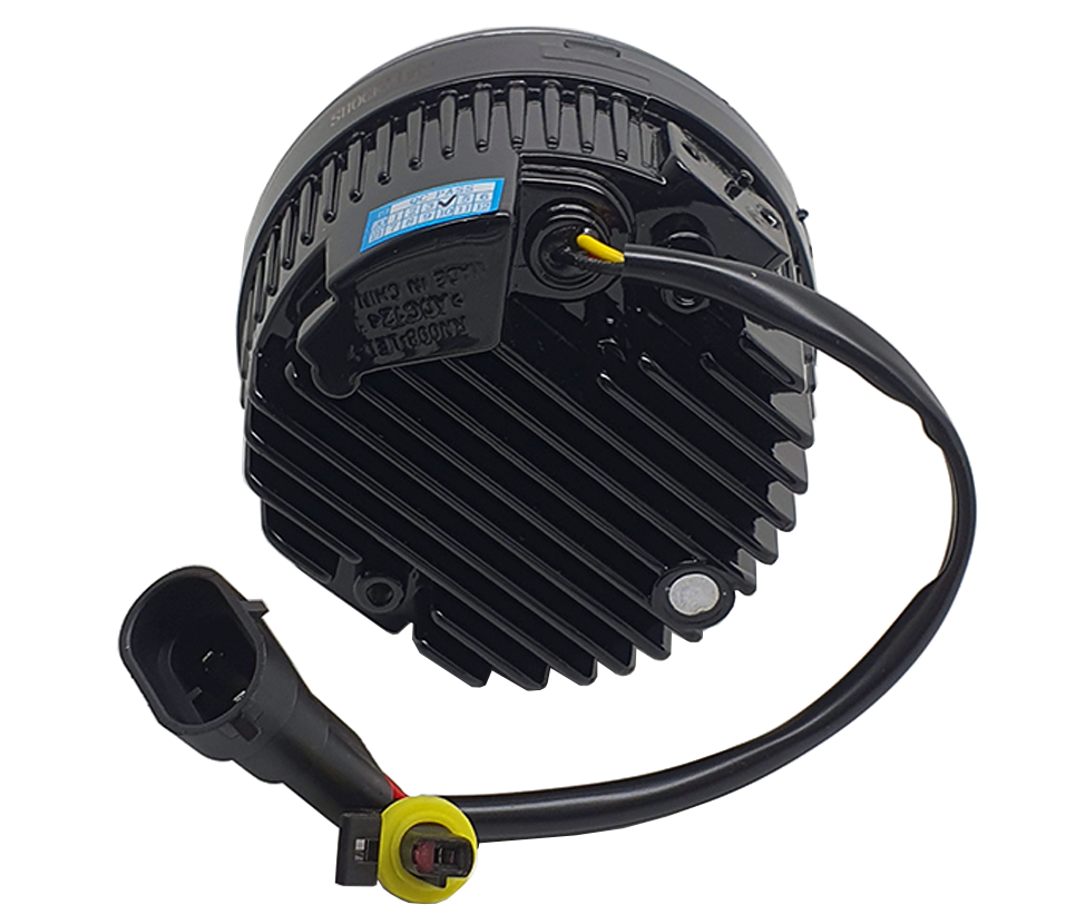 Imagem de FAU-DRL - Kit Led Farol Auxiliar Universal 9W  12V c/ DRL