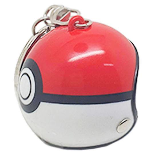 Imagem de CH5069  - Chaveiro  Capacete Pokemon Pokebola