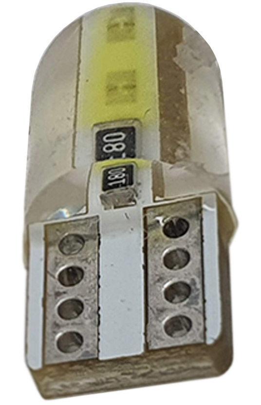 Imagem de LT10-872 - Led T10 Silicone 4 Chip COB 12V 8000K