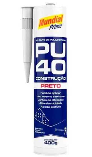 Imagem de PU40-400G-MP - Selante de Poliuretano PU 40 400G Preto Mundial Prime