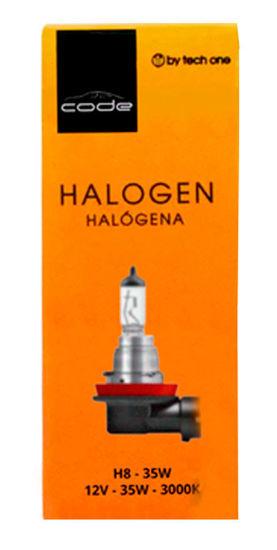 Imagem de H8CODE  - Lâmpada Convencional H8 12V 35W CODE