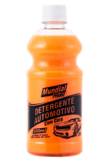 Imagem de DAC-500ML-MP - Detergente Automotivo c/ Cera 500ML Mundial Prime