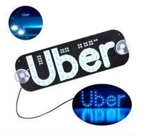 Imagem de LETUBER-AZ - Letreiro Placa Uber Azul 12V