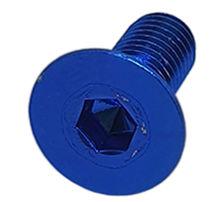 Imagem de PAN01-M8x20-AZ - Parafuso Anodizado M8 x 20mm Allen Flat Alumínio Azul