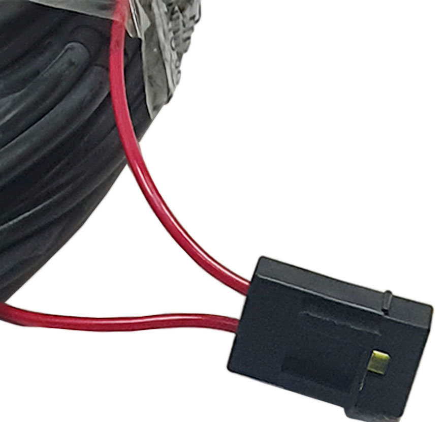 Imagem de ECP-7M -  Chicote p/ Máquinas de Pulverização 3 Metros + 7 Metros  + 3 Metros Esquerda + 3 Metros Direita c/ Tecla Lig/Desl Plug Macho (cabo PP 2x1mm)